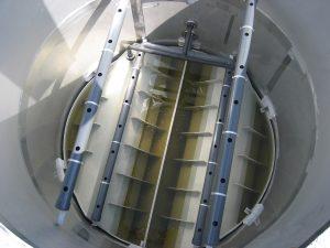 ویژگی هیدرولیکی راکتور در کاربرد لامپ UV در تصفیه آب