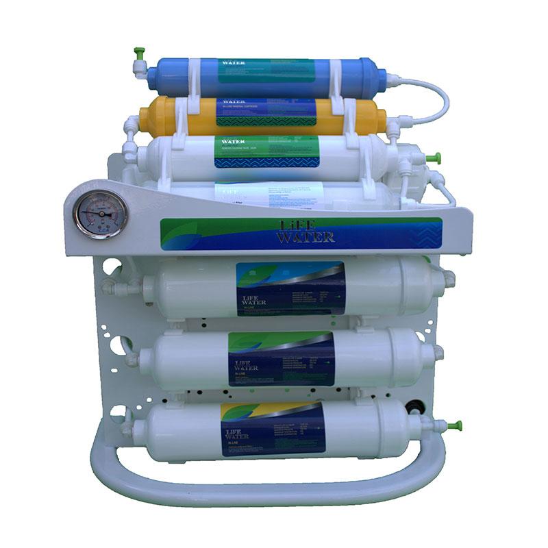 دستگاه تصفیه آب اینلاین لایف واتر مدل نوبل پلاس 8 مرحله