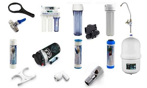 نصب و تعویض فیلترها در مرکز پخش فیلتر تصفیه آب خانگی